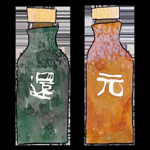 還元くん(低電位水素茶製造ボトル)